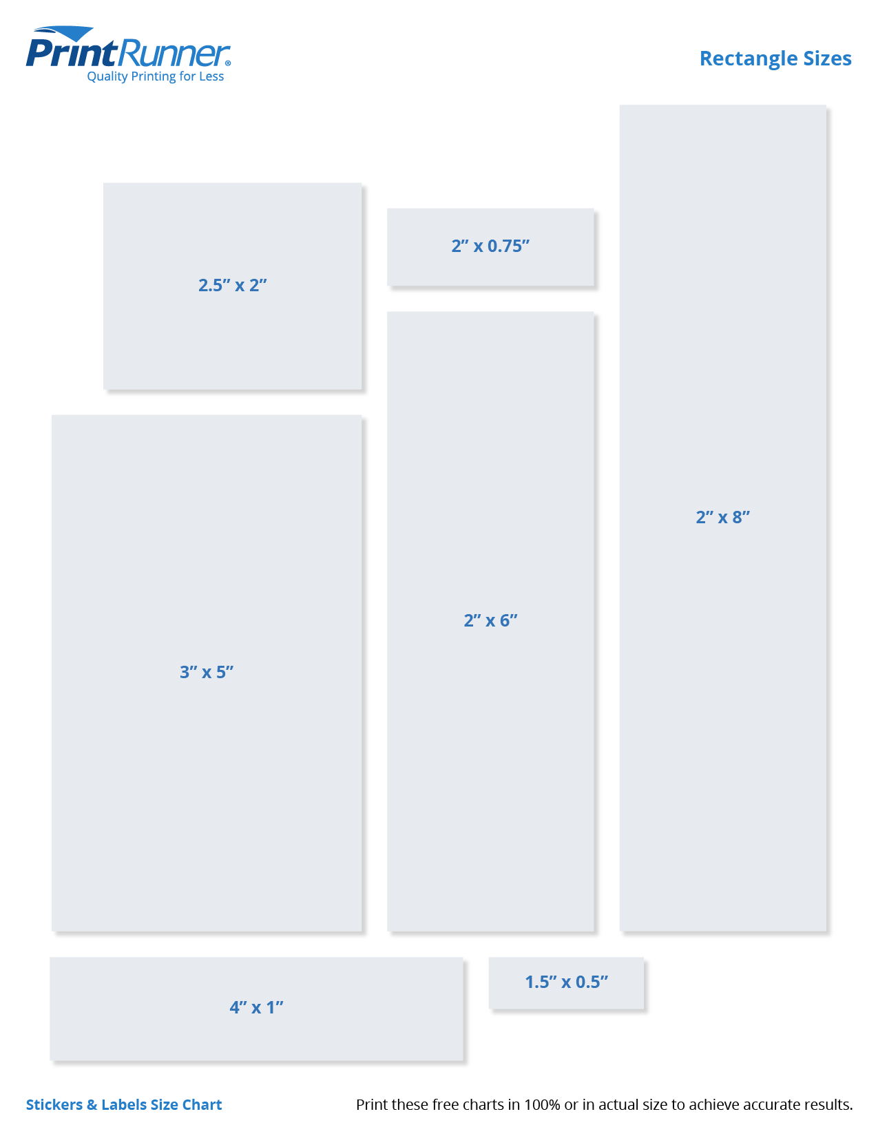 Download Rectangle Chart