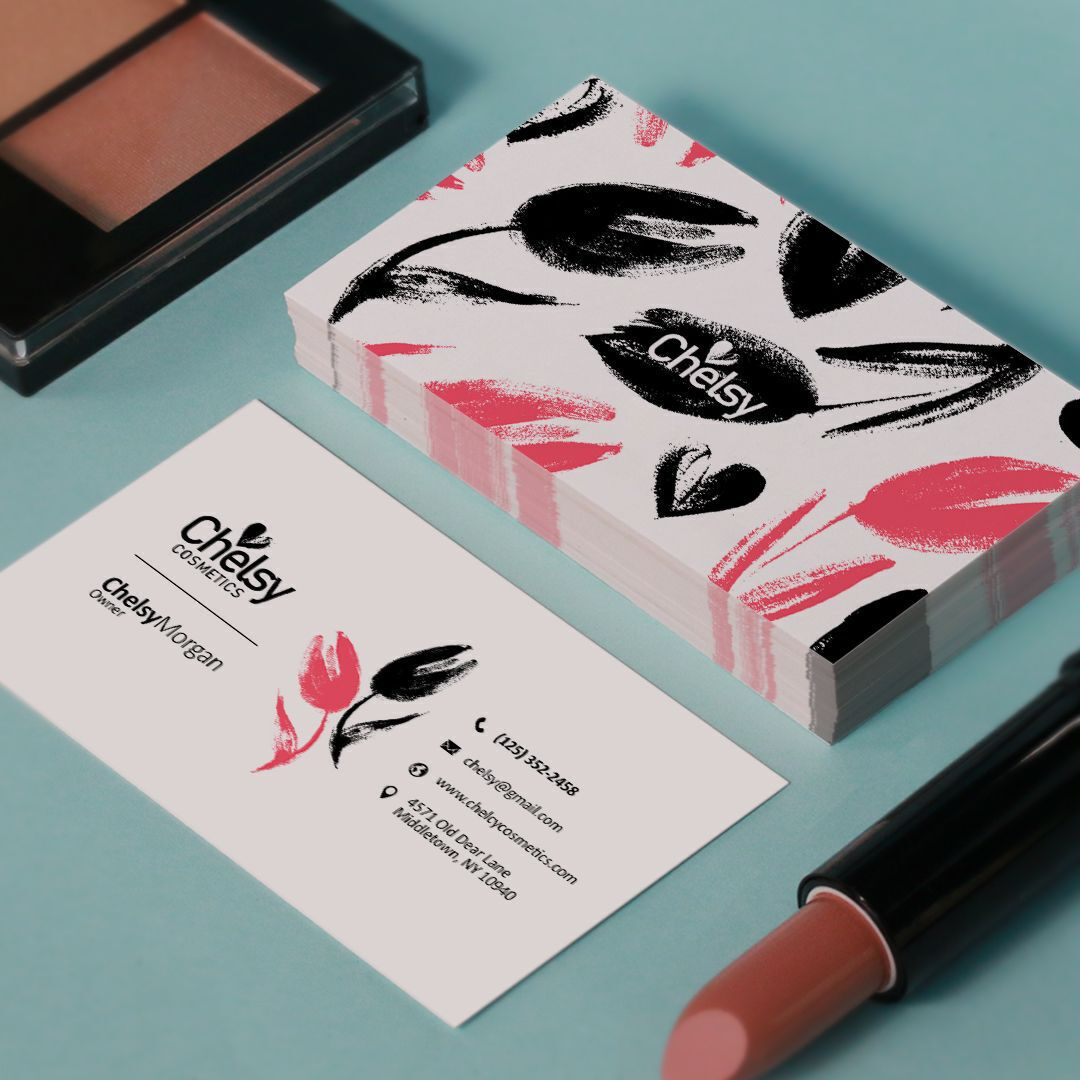 well designed business card