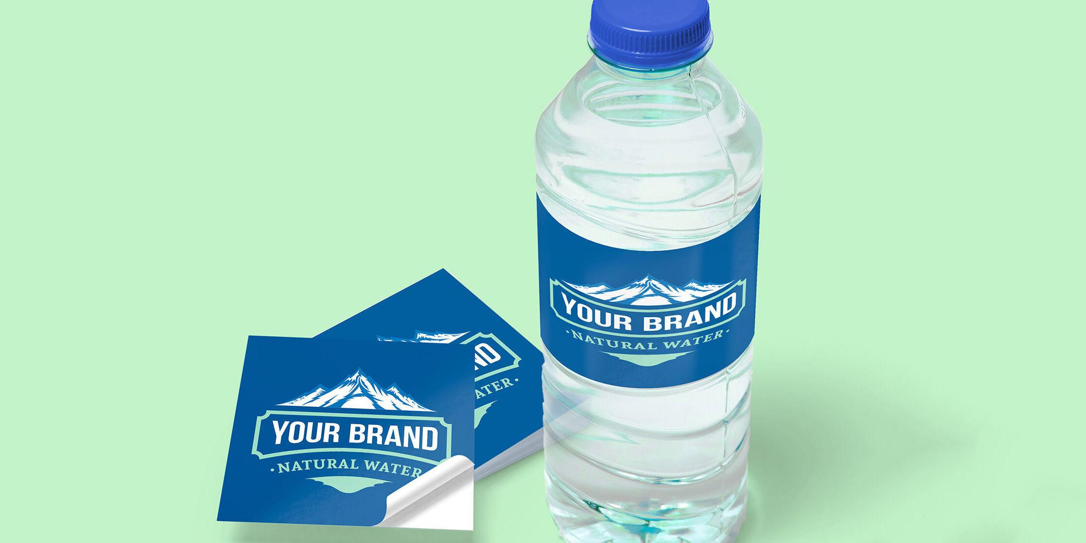 Bulk Custom Water Bottle Stickers