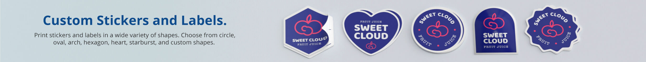 Custom Stickers and Labels