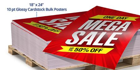Bulk Poster Printing Custom Posters
