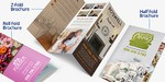 Custom Printed Full Color Brochures