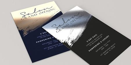 Foil Invitation Printing