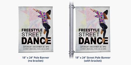 Pole Banner Printing