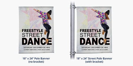 Replacement Pole Banner Printing