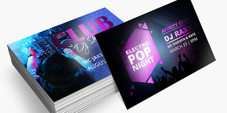 metallic flyers
