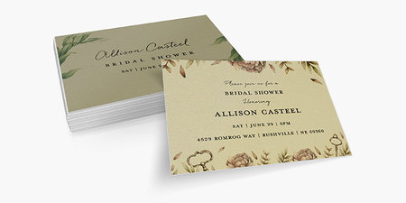 Silk Invitations