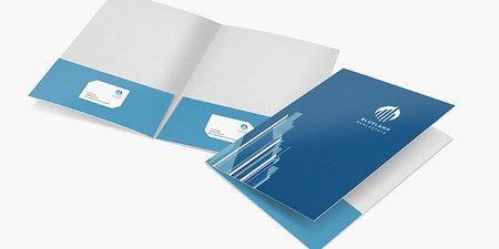 Silk Presentation Folders