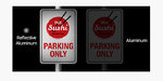 Parking Signs Application Reflective Comparison