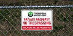 Property Signs Application