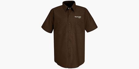 Men's Half Sleeve Red Kap Work Shirt